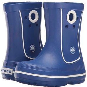CROCS Shoes - CROCS crocband jaunt Rain Boots size J2